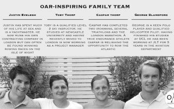 The team at Trafalgar Wharf