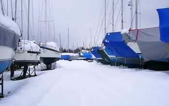 Winter storage boats