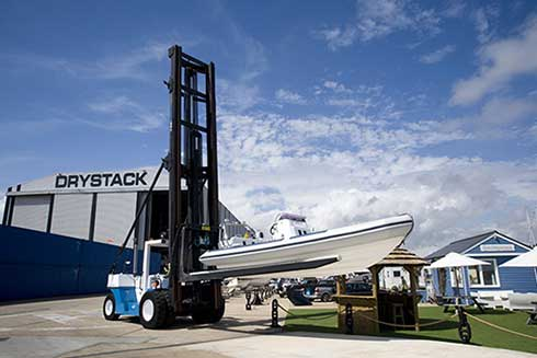POWERBOAT DRYSTACK