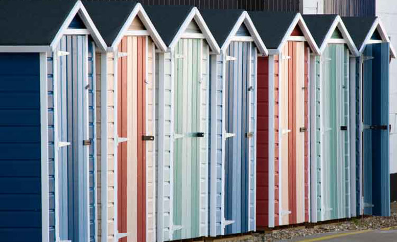 Beach Hut Storage