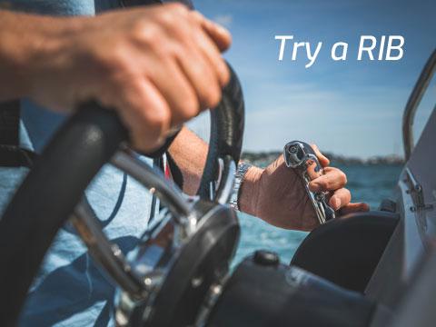 Try a RIB at Trafalgar Boat Show